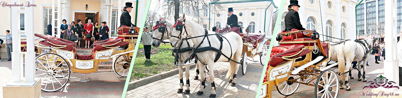 Карета на свадьбу в Воронеже